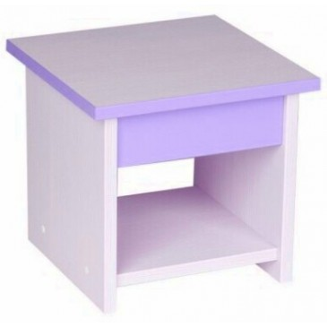 Dětská stolička CR127, fialovo-bílá