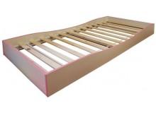 Přistýlka pod postel CR129, růžová, zelená, fialová-bílá