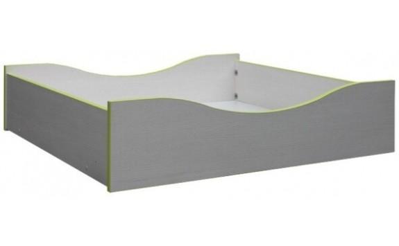 Úložný prostor pod postel CR109, zelená-bílá