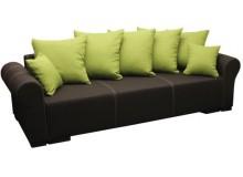 Rozkládací pohovka s úložným prostorem PR004 - pro tři osoby, 250 cm