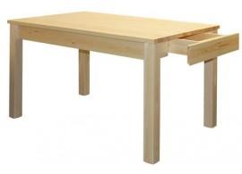 Jídelní stůl z masivu 130x80 BR145, masiv borovice