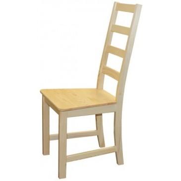 Jídelní židle do kuchyně BR166, masiv borovice