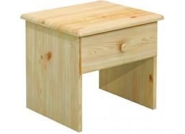 Noční stolek BR012, masiv borovice