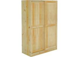 Šatní skříň BR023, masiv borovice