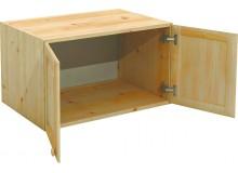 Nástavec šatní skříně BR022, masiv borovice