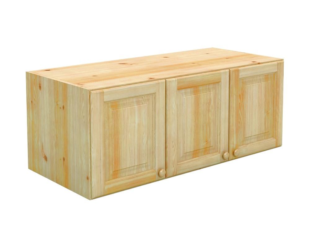 Nástavec šatní skříně BR026, masiv borovice