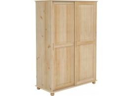 Šatní skříň BR227, masiv borovice