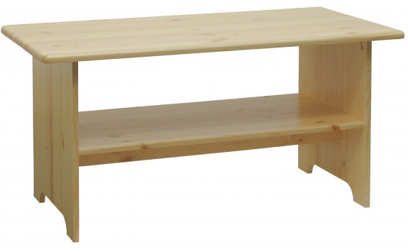 Konferenční stolek z masivu 120x60 - KR301, borovice