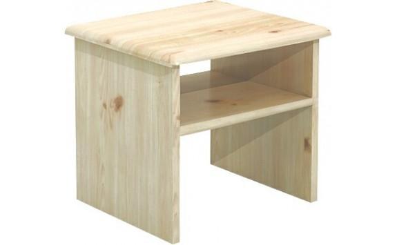Noční stolek - BR711, masiv smrk