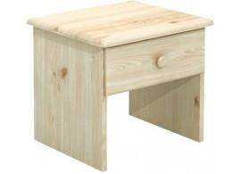 Noční stolek BR712, masiv smrk