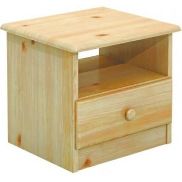 Noční stolek BR018, masiv borovice