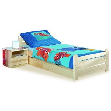 Dřevěná postel - jednolůžko 90x200 NK 19 – Nový Klasik