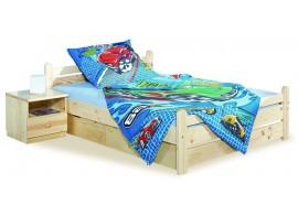 Dřevěná postel z masivu 100x200 NK 20 – Nový Klasik