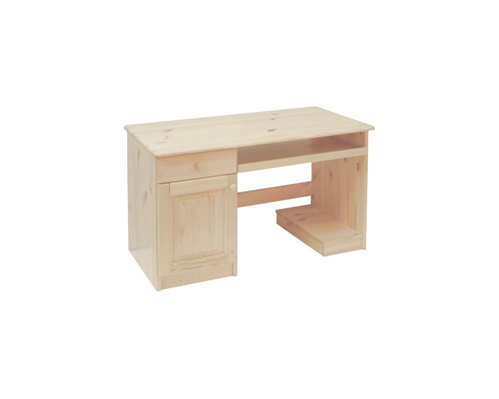 Psací stůl BR742, masiv smrk
