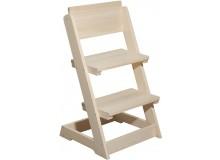 Dětská rostoucí polohovací židle BR162, masiv smrk