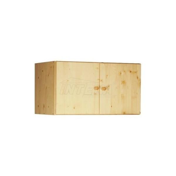 Nástavec na skříň IA711, masiv smrk, nelakovaný