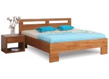 Manželská postel z masivu MESSINA 180x200, masiv buk