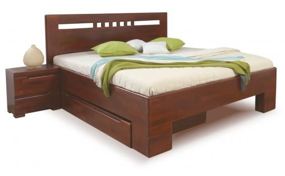 Manželská postel z masivu SOFIA F112 180x200, masiv buk