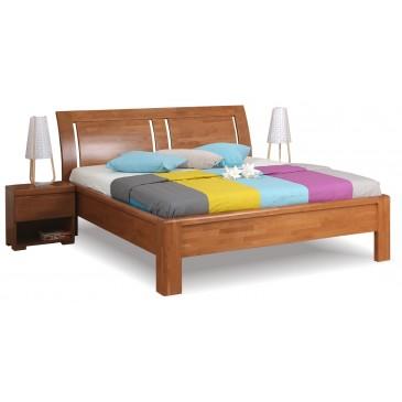 Manželská postel z masivu FLORENCIA F121 180x200, masiv buk