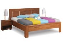 Manželská postel z masivu FLORENCIA F119 180x200, masiv buk