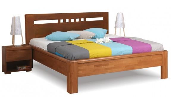 Manželská postel z masivu FLORENCIA F120, masiv buk