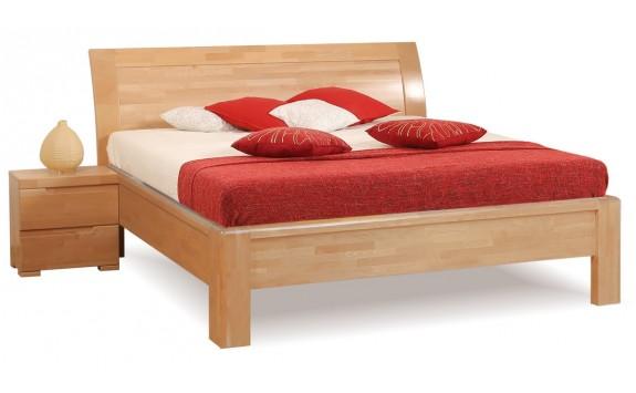Manželská postel z masivu FLORENCIA F126, masiv buk