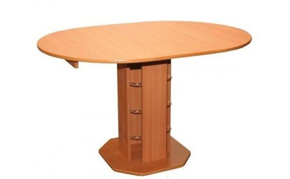 Rozkládací jídelní stůl oválný 125x90 - SR07, buk, olše, wenge