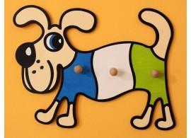 Dětský věšák pes, D816