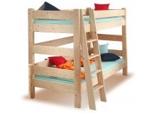 Dětská poschoďová postel Sendy 300/05, masiv smrk