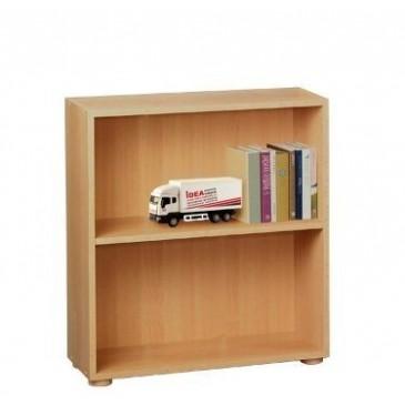 Regál, policová knihovna IA360A, lamino buk