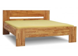 Manželská postel z masivu MAXIM 160x200, 180x200, masiv jádrový buk
