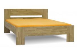 Manželská postel z masivu MAXIM 160x200, 180x200, masiv dub