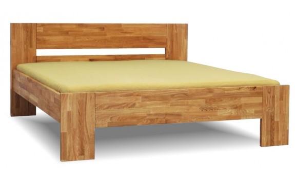 Zvýšená postel MAXIM PLUS senior 160x200, 180x200, masiv jádrový buk
