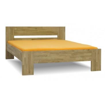 Zvýšená postel MAXIM PLUS senior 160x200, 180x200, masiv dub
