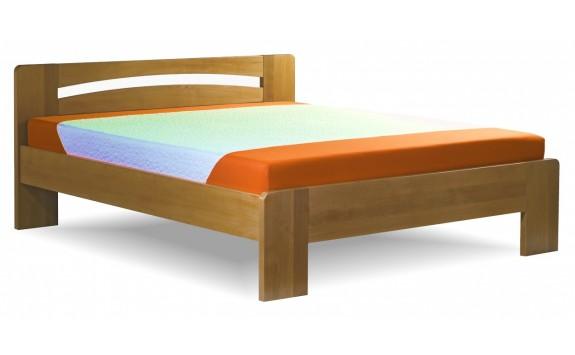 Zvýšená postel z masivu RICHARD PLUS senior 160x200, 180x200, masiv smrk