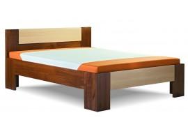 Zvýšená postel GOLEM senior 160x200, 180x200, masiv buk