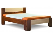 Zvýšená postel GOLEM senior 160x200, 180x200, masiv smrk