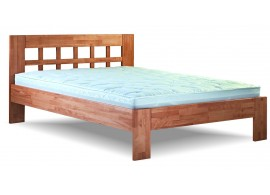 Manželská postel z masivu NORMAN 160x200, 180x200, masiv jádrový buk