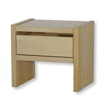 Noční stolek se zásuvkou MAXIM, masiv dub