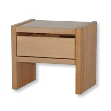 Noční stolek se zásuvkou MAXIM, masiv smrk