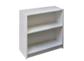 Regál, policová knihovna IA353B, lamino bílá