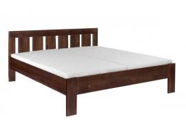 Manželská postel FILIP s rošty ZDARMA 180x200, masiv buk, ořech