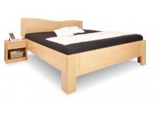 Zvýšená postel K-DESIGN 1-A senior 160x200, 180x200, masiv buk