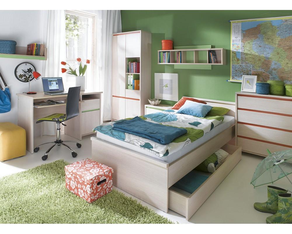 Dětský nábytek NUMMER, lamino sv. dub