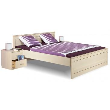 Manželská postel dvojlůžko B20-BOLZANO 180x200, bříza