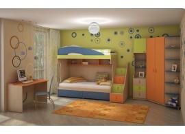 Dětský nábytek pro 2 děti MIA-006
