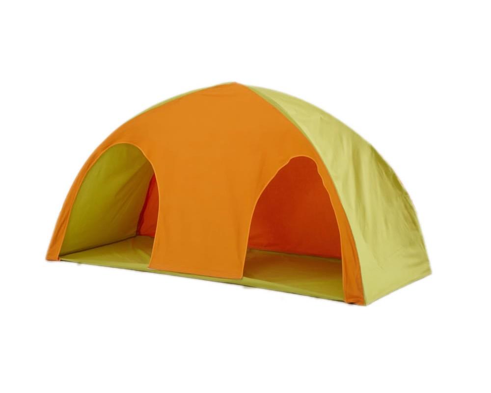 Domeček/stan MONTERO-09, zeleno-oranžová