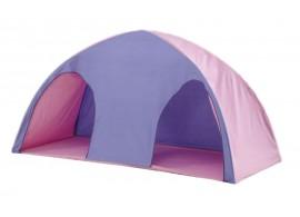 Domeček/stan MONTERO-09, růžovo-modrá