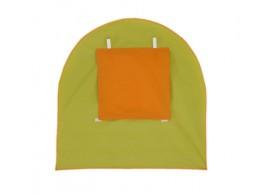 Čelo k tunelu MONTERO-03, zeleno-oranžová