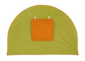 Čelo k tunelu MONTERO-05, zeleno-oranžová